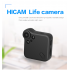 Wearable Mini WiFi Camera shoots 1080P HD footage of all your upcoming adventures  It supports up to 64GB of external memory to save your pictures and video