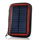 Weatherproof Solar Battery Charger Case with a 2200mAh Battery is an Ideal Emergency Power Backup for any Camping or Outdoor Trip