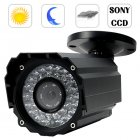 Weatherproof Sony 1 3 inch interline CCD CCTV security camera with nighvision with a super quality image like you have never seen before