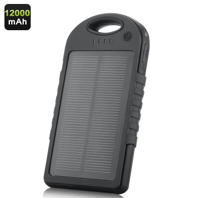 Solar Powered Charger - 1200mAh