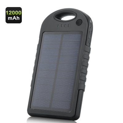12000mAh Solar Powered Charger