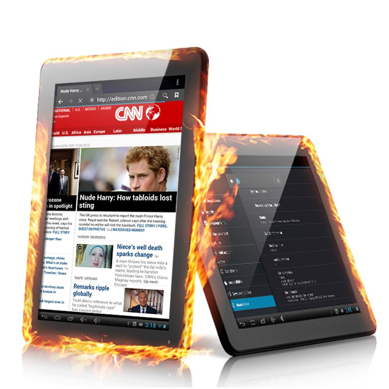 Dual Core Android 4.1 Tablet