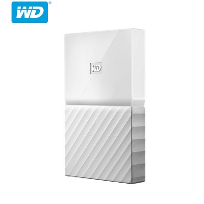 Western Digital My Passport hdd 2 5 in USB 3 0 SATA Portable HDD Storage  Externe Schijf Disk 2TB - White