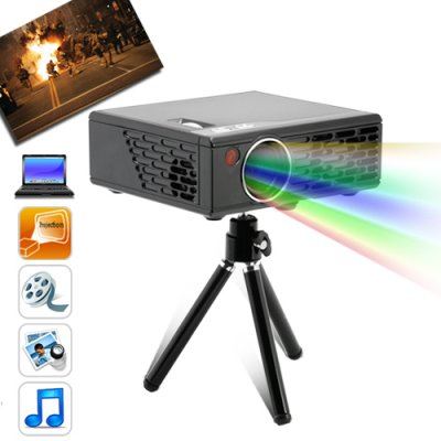Media Nova - Portable Multimedia Projector (100 Lumens, VGA, AV)