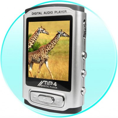 MP4 Player 1GB - 1.8 Inch Screen + Password Setting