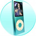 1.8-inch Screen New Style Stainless Metal Shell MP4 Player, 1GB