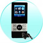 1GB Pocket MP4 Video Player - 1.5 Inch Screen - Dual Earphone