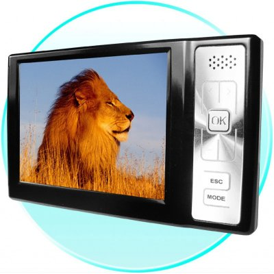 King Sized 1GB MP4 Player - 3.6 Inch 262K TFT LCD Screen