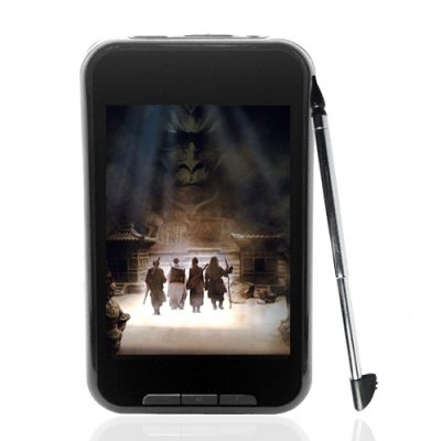 Touch Screen MP4 Player with Video Camera