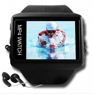 OLED MP4 Watch 2GB - 1.8 Inch Movie + Music Player