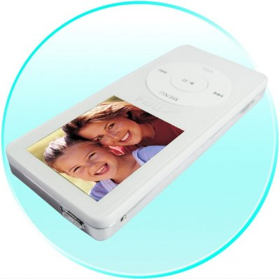 MP4 Player 4GB, 1.8-inch LCD, Stylish Thin Design
