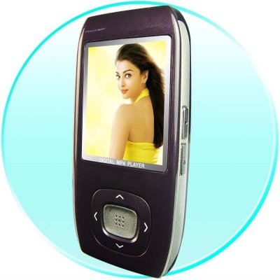 Smooth Design MP4 Portable Movie Player 4GB - Quality Speaker