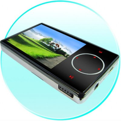 LED TouchButton 4GB MP4 Player - Micro SD Slot - 2.4 Inch Screen