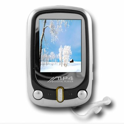 4GB Digital PMP MP4 - 1.8 Inch TFT Screen + TF Card Slot