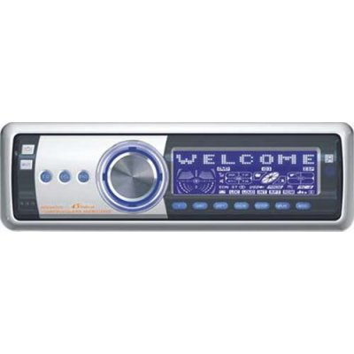 Car Entertainment Center - AM FM Stereo/ RDS/ CD/ CD-R/ CD-RW
