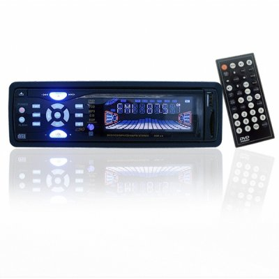 Detachable Panel Car Audio Player - 1 - Din - SD/MMC