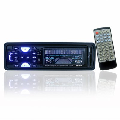 Car DVD Player With Color LCD - USB + SD Reader
