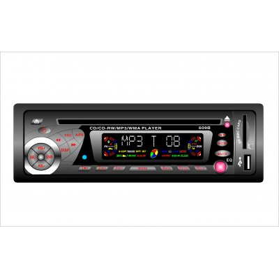 Car / MP3 / WMA Music Player with USB / SD/ MMC card reader