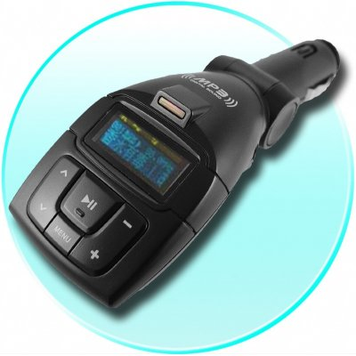 Car WMA + MP3 Player 1GB - FM Transmitter