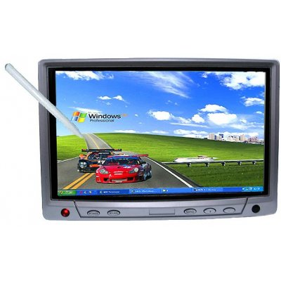 Headrest LCD with Touch Screen 7.0inch, Panasonic Chip, VGA, USB