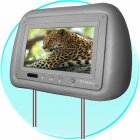 7inch Headrest TFT-LCD monitor with pillow 16:9 format