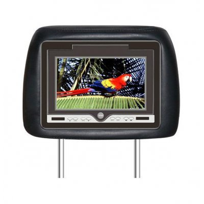 8.5-inch TFT LCD Headrest W/Built-in DVD player