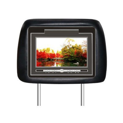 7-inch TFT LCD Headrest W/Built-in DVD player
