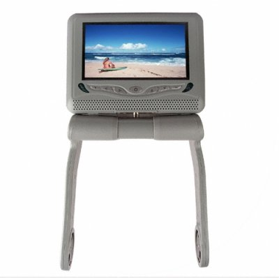 Touchscreen Armrest DVD Player - Bluetooth + iPod Connect -Grey