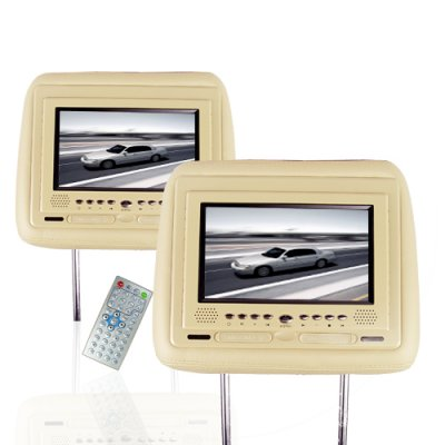 DVD Headrest Pair