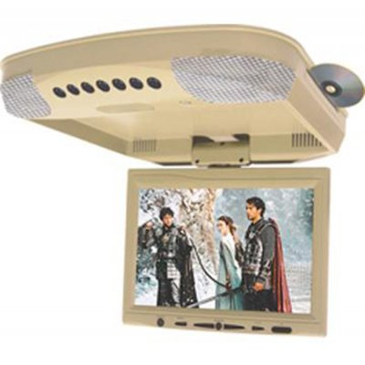 Roof mount 9.2inch 16:9 SHARP TFT, Built-in DVD, Stereo Transmit