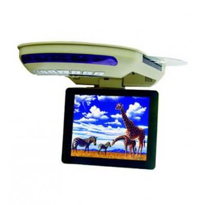 Roof Mount TFT-LCD with DVD Player and FM, 8-inch Display