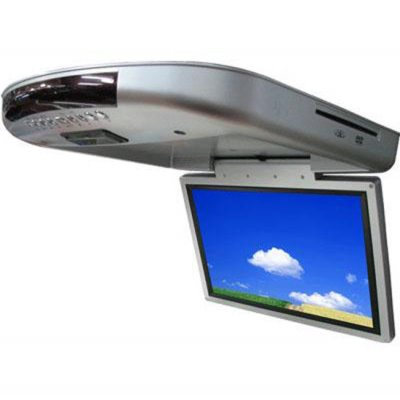 14.3-inch Roof-Mountable Car DVD Player + SD/ MMC/ MS Card