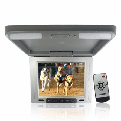 10.4 Inch Display Roof Mount TFT LCD Monitor - x2 AV IN