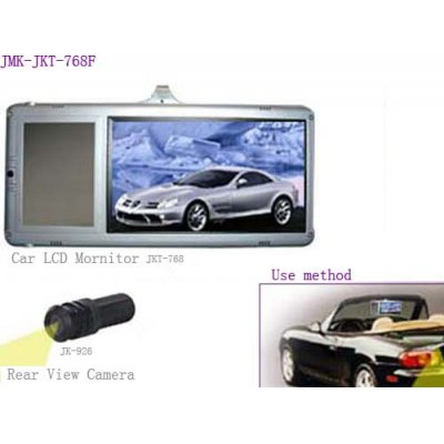 Sun Visor Clip-On Monitor + Reversing Camera - Left Hand Side