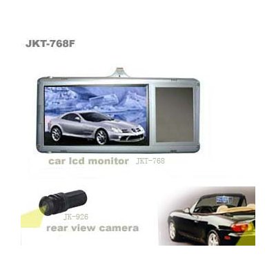 Sun Visor Clip-On Monitor + Reversing Camera - Right Hand Side