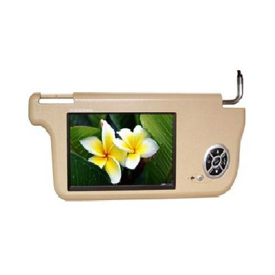Sun Visor Car TFT LCD Monitor, 8-inch LCD (left side)