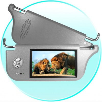 Sun Visor Car LCD Monitor - 7.8-inch TFT LCD (Left)