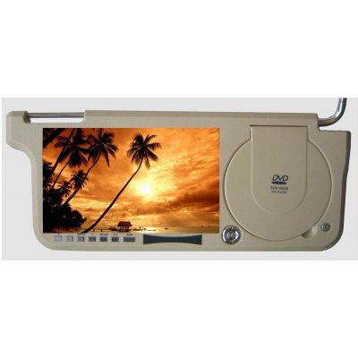 8.5 Inch Sun Visor DVD Player + TV System - Right