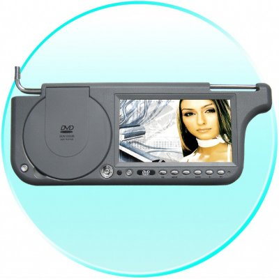 7inch Sun Visor DVD with FM Transmission - Left Side
