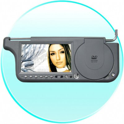7inch Sun Visor DVD with FM Transmission - Right Side