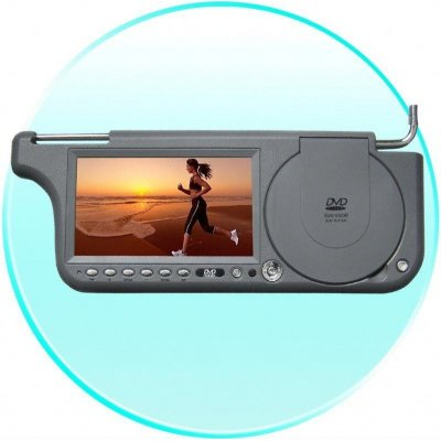 7inch Touch Screen Sun visor DVD - Right Side