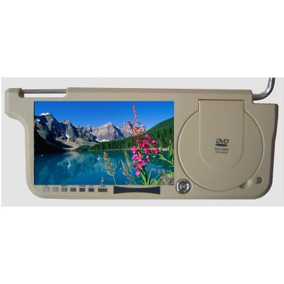 Sun Visor DVD Player Right + FM Transmission - 8.5 Inch Sceen