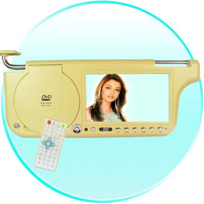 7inch Sun Visor DVD with Touch Screen with TV and FM(Left)