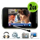 Wholesale Discount Touchscreen 2GB MP4 Player  MP4 Digital Media Player  and Touchscreen MP3   MP4   MP5   MP6 Player all in one   the CVAAL 010 at chinavasion