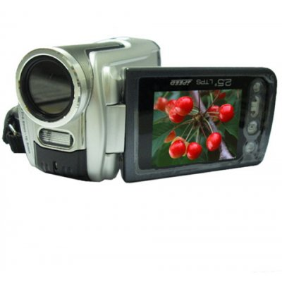 8.0M Pixel CCD Digital Video Camera with MP3/MP4, 2.5-inch LCD