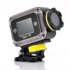 Wi Fi Full HD Action Camera Sports Camera  10m Waterproof  1 5 Inch LCD Display  iOS and Android App  120 Degrees view lens
