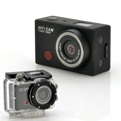 Wi-Fi 1080p Sports Camera - SportsCam
