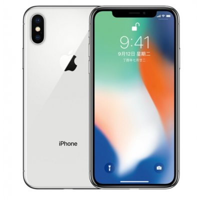 Refurbished Apple iPhone X White 64GB EU-Plug