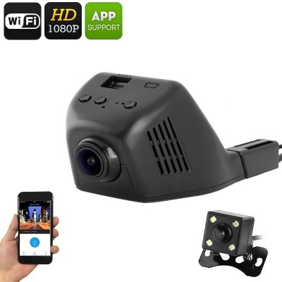 Full-HD WiFi Car DVR