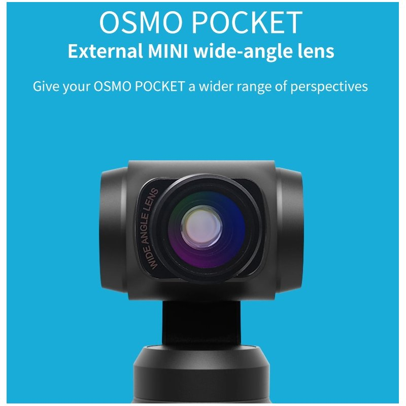 Wide-angle Lens PRO For DJI osmo pocket  black